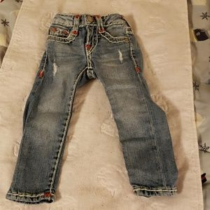 True Religion toddler girl jeans
